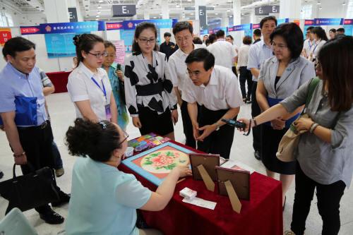 2015年天津市残疾人专场招聘会成功召开图片